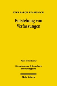 Entstehung von Verfassungen | Adamovich, 2004 | Buch (Cover)