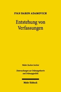 Abbildung von Adamovich | Entstehung von Verfassungen | 2004