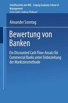 Abbildung von Sonntag | Bewertung von Banken | 2001 | Ein Discounted Cash Flow-Ansat...