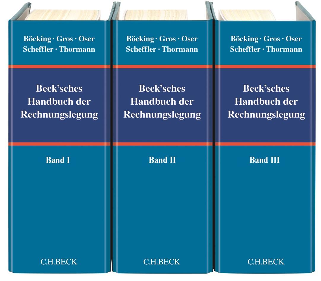 Beck'sches Handbuch der Rechnungslegung | Böcking / Castan / Heymann / Pfitzer / Scheffler | 55. Auflage (Cover)