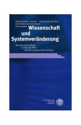 Abbildung von Adam / Dainat / Schandera | Wissenschaft und Systemveränderung | 2003 | Rezeptionsforschung in Ost und... | 44