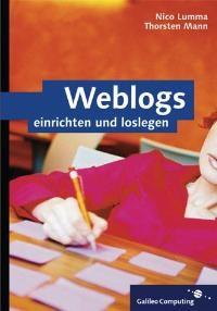 Weblogs | Lumma / Mann, 2004 | Buch (Cover)