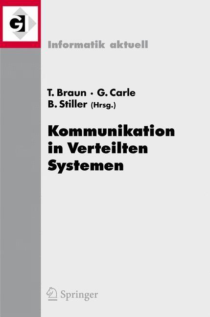 Abbildung von Braun / Carle / Stiller | Kommunikation in Verteilten Systemen (KiVS) 2007 | 2007
