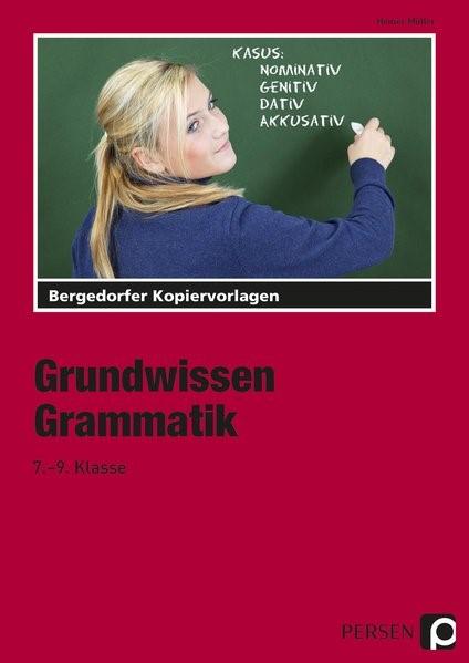 Grundwissen Grammatik | Müller, 2018 | Buch (Cover)