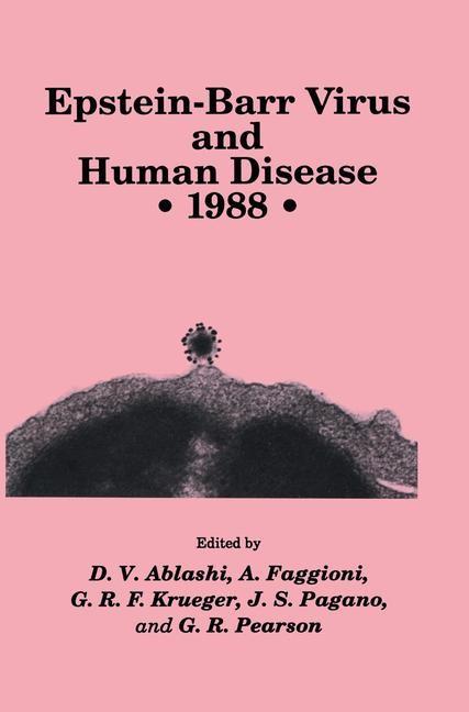 Epstein-Barr Virus and Human Disease • 1988 | Ablashi / Faggioni / Krueger / Pagano / Pearson | 1989, 1989 | Buch (Cover)