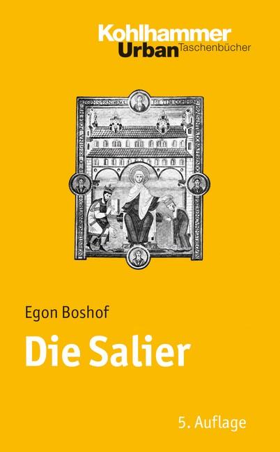 Die Salier | Boshof | 5., aktualisierte Auflage, 2008 | Buch (Cover)