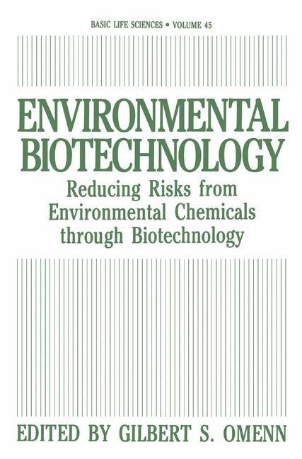 Environmental Biotechnology | Omenn, 1988 | Buch (Cover)