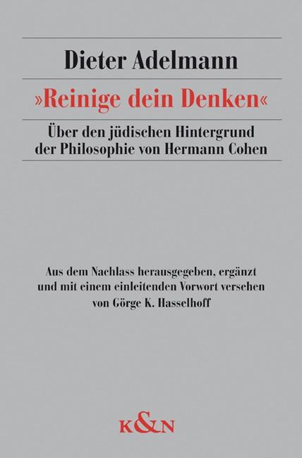 »Reinige dein Denken« | Adelmann / Hasselhoff, 2010 | Buch (Cover)