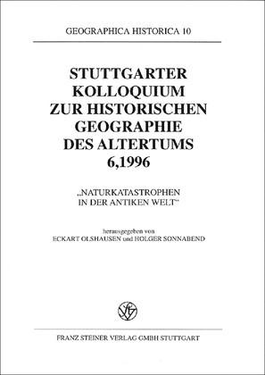 Abbildung von Olshausen / Sonnabend   Naturkatastrophen in der antiken Welt   1998
