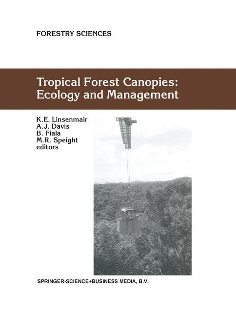 Abbildung von Linsenmair / Davis / Fiala / Speight | Tropical Forest Canopies: Ecology and Management | <em>Reprinted from PLANT ECOLOGY, 153 </em> | 2001