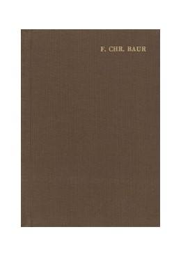 Abbildung von Baur / Scholder | Ferdinand Christian Baur: Ausgewählte Werke / Band II: Arbeiten zur Kirchengeschichte I | 1963 | Arbeiten zur Kirchengeschichte...