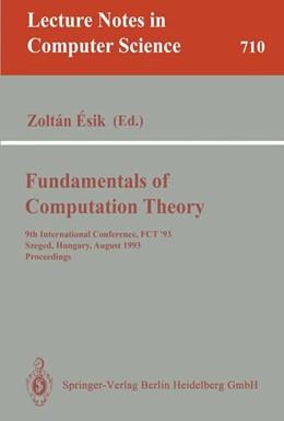 Abbildung von Esik   Fundamentals of Computation Theory   1993   9th International Conference, ...   710