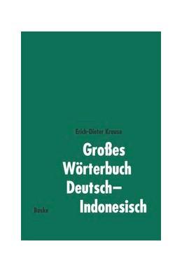 Abbildung von Krause | Großes Wörterbuch Deutsch-Indonesisch | 2002
