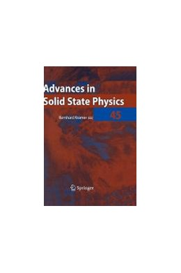 Abbildung von Kramer | Advances in Solid State Physics 45 | 2005 | 45