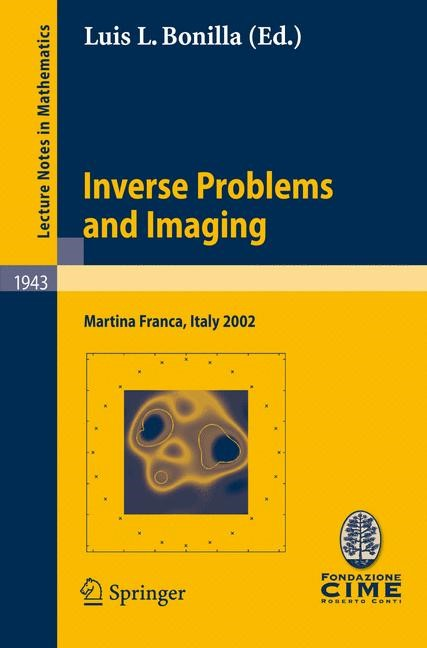 Abbildung von Bonilla | Inverse Problems and Imaging | 2008