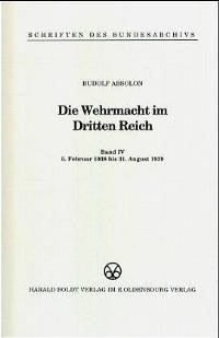 8. Februar 1938 bis 31. August 1939, 1998 (Cover)