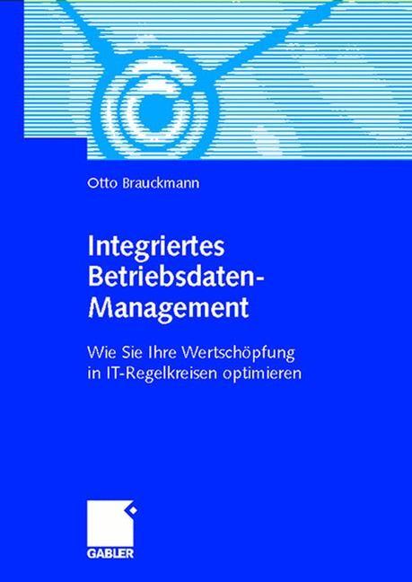 Integriertes Betriebsdaten-Management | Brauckmann | 2002, 2002 | Buch (Cover)