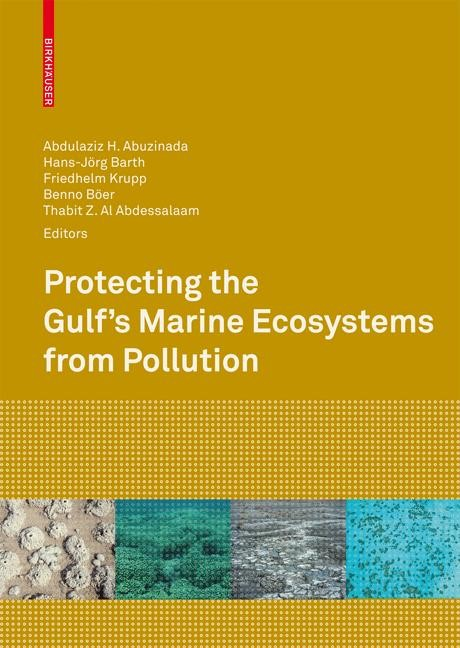 Protecting the Gulf's Marine Ecosystems from Pollution | Abuzinada / Barth / Krupp / Böer / Al Abdessalaam, 2007 | Buch (Cover)