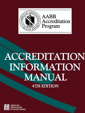 Abbildung von Accreditation Information Manual (AIM) | 4th edition | 2003