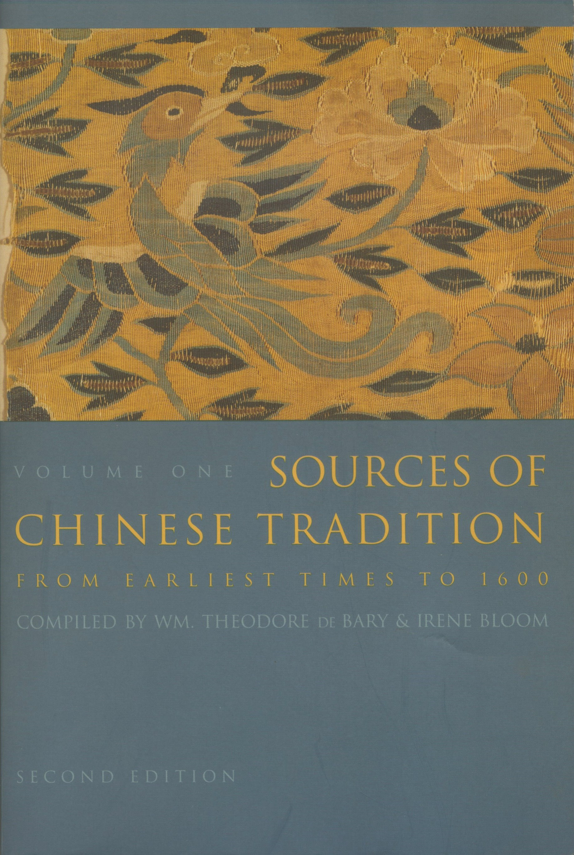 Abbildung von Bary / Bloom | Sources of Chinese Tradition | second edition | 1999