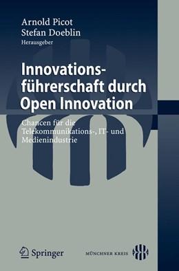 Abbildung von Doeblin | Innovationsführerschaft durch Open Innovation | 2008 | Chancen für die Telekommunikat...