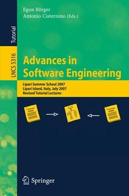 Abbildung von Börger / Cisternino | Advances in Software Engineering | 2008 | Lipari Summer School 2007, Lip... | 5316