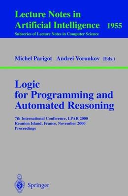 Abbildung von Parigot / Voronkov | Logic for Programming and Automated Reasoning | 2000 | 7th International Conference, ...