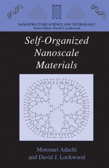 Self-Organized Nanoscale Materials | Adachi / Lockwood, 2006 | Buch (Cover)
