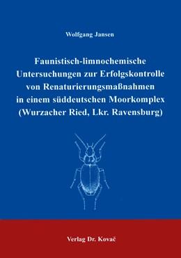 Abbildung von Jansen   Faunistisch-limnochemische Untersuchungen zur Erfolgskontrolle von Renaturierungsmaßnahmen in einem süddeutschen Moorkomplex (Wurzacher Ried, Lkr. Ravensburg)   1999   60