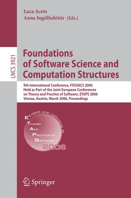 Foundations of Software Science and Computational Structures | Aceto / Ingólfsdóttir, 2006 | Buch (Cover)