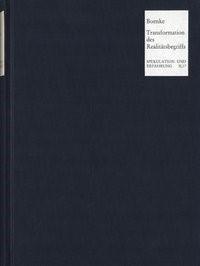 Abbildung von Boenke | Transformation des Realitätsbegriffs | 1990