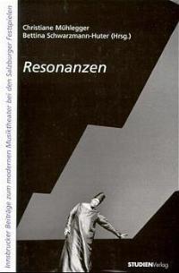 Resonanzen | Mühlegger / Schwarzmann-Huter, 1998 | Buch (Cover)