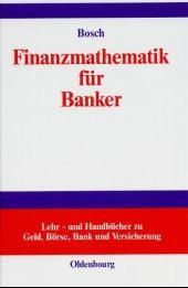 Finanzmathematik für Banker | Bosch | Reprint 2018, 2000 | Buch (Cover)