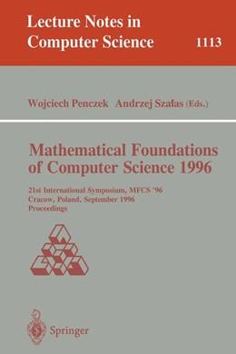 Abbildung von Penczek / Szalas   Mathematical Foundations of Computer Science 1996   1996   21st International Symposium, ...   1113
