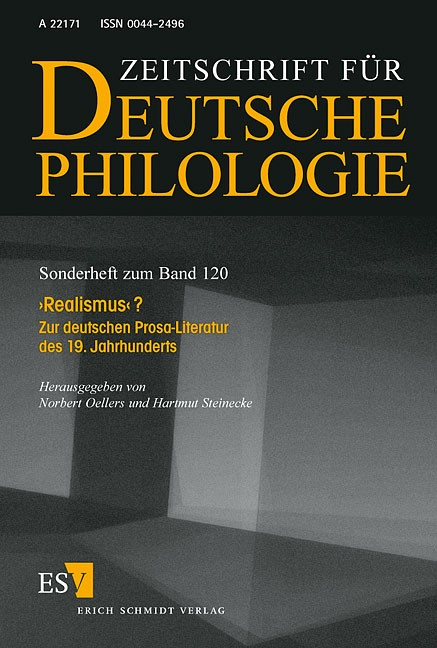,Realismus'? | Oellers / Steinecke, 2001 | Buch (Cover)