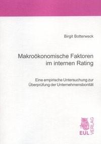 Makroökonomische Faktoren im internen Rating | Botterweck, 2007 | Buch (Cover)