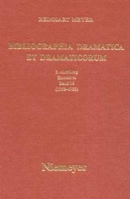 Abbildung von Meyer | 1752-1753 | 2002 | II. Abteilung: Einzeltitel. Ba...