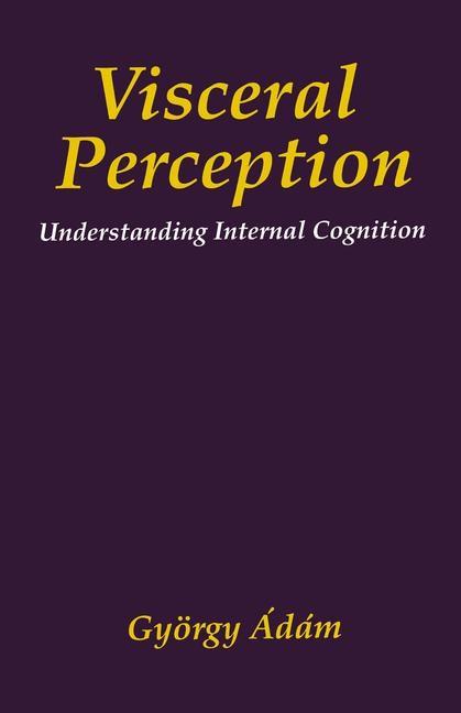 Visceral Perception | Ádám, 1998 | Buch (Cover)