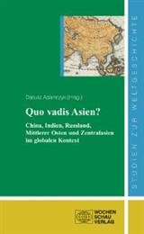 Quo vadis Asien | Adamczyk, 2009 | Buch (Cover)