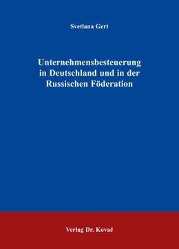 Abbildung von Gert | Unternehmensbesteuerung in Deutschland und in der Russischen Föderation | 2009 | 45