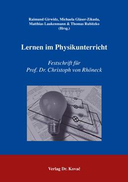 Abbildung von Girwidz / Gläser-Zikuda / Laukenmann / Rubitzko   Lernen im Physikunterricht   2006   Festschrift für Prof. Dr. Chri...   29
