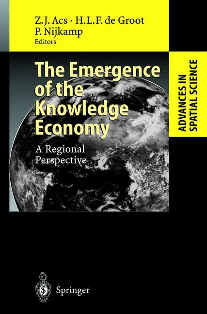 The Emergence of the Knowledge Economy | Acs / Groot / Nijkamp, 2002 | Buch (Cover)
