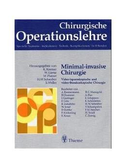 Abbildung von Kremer / Lierse / Platzer / Schreiber / Weller | Minimal-invasive Chirurgie | 1995 | Band 7 Teil 2