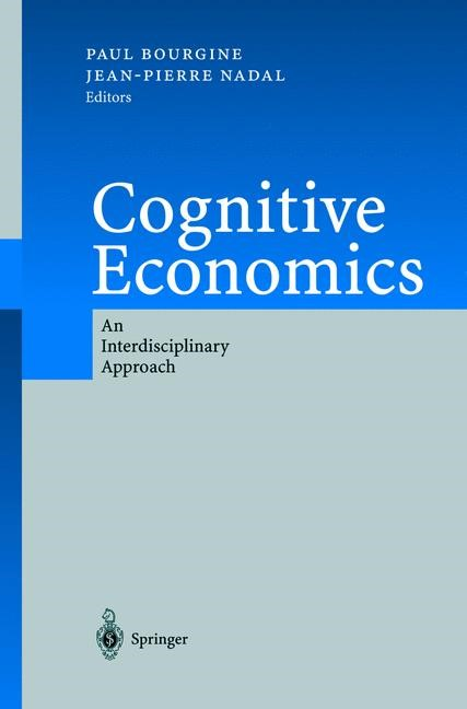 Cognitive Economics | Bourgine / Nadal, 2004 | Buch (Cover)
