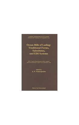 Abbildung von Yiannopoulos | Ocean Bills of Lading:Traditional Forms, Substitutes, and EDI Systems | 1995 | Traditional Forms, Substitutes...
