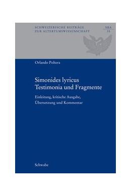 Abbildung von Keos / Poltera | Simonides lyricus. Testimonia und Fragmente | 1. Auflage | 2008 | 35 | beck-shop.de