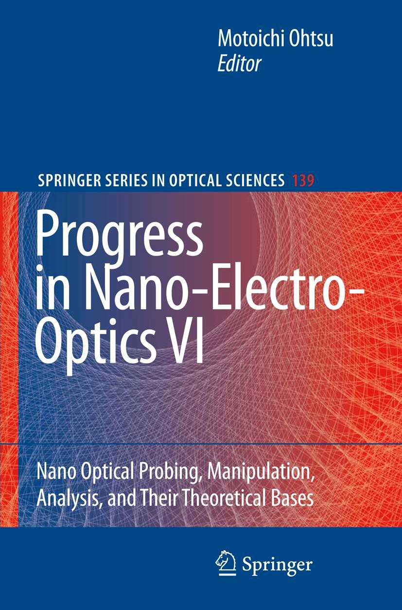 Progress in Nano-Electro-Optics VI   Ohtsu, 2008   Buch (Cover)