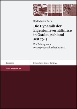 Die Dynamik der Eigentumsverhältnisse in Ostdeutschland seit 1945 | Born, 2007 | Buch (Cover)