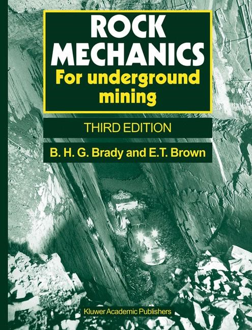 Rock Mechanics | Brady / Brown | 3rd ed., 2006 | Buch (Cover)