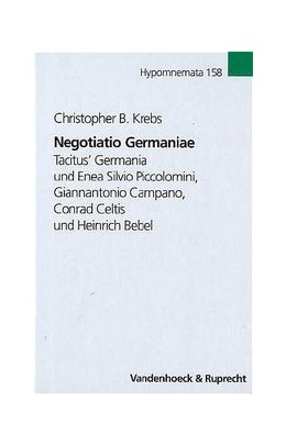 Abbildung von Krebs | Negotiatio Germaniae | 2005 | Tacitus' Germania und Enea Sil... | Band 158
